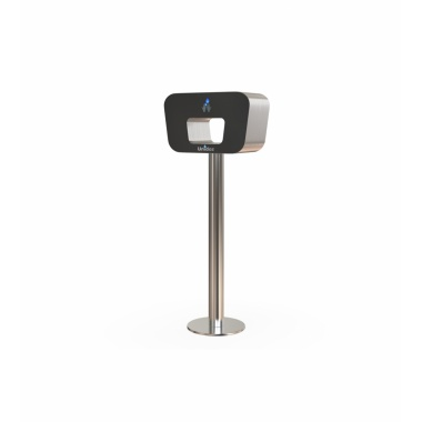 Column Hand sanitizer dispenser_black