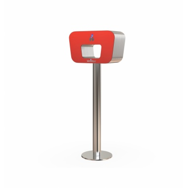 Hand sanitizer dispenser_red